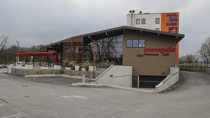 Hôtel IBIS - resto COURTEPAILLE- bureaux