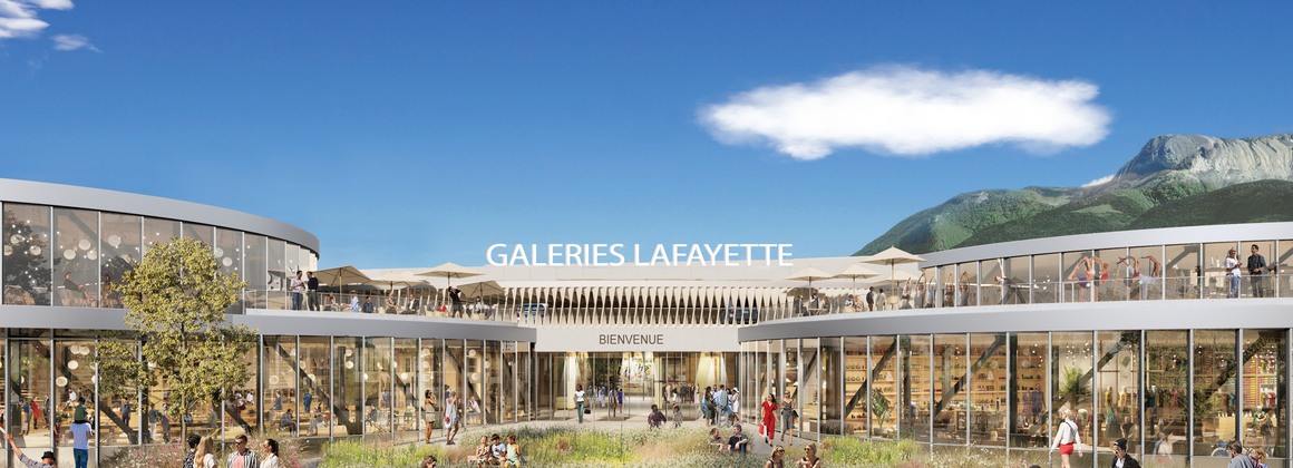 Projet Galeries Lafayette Annecy